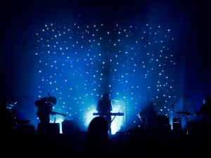 Beach House performs at the Bomb Factory in Dallas last month. This was a setting for a show as spacey as their signature sound.