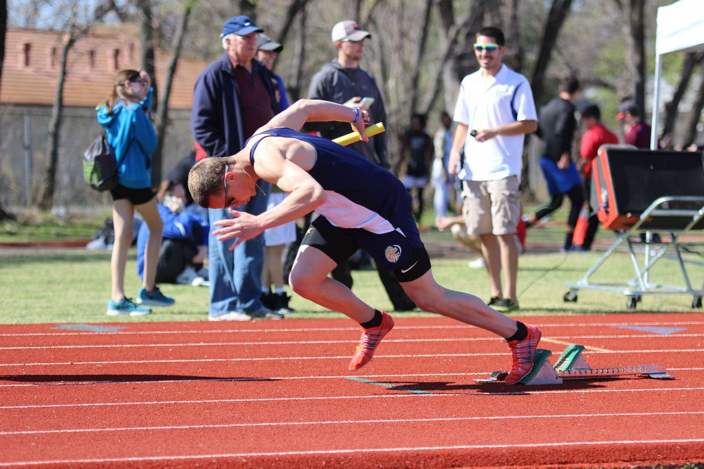 Senior Ryan Champlin won the State 3A TAPPS Championship May 7, 2016, with 48.04 seconds in the 400 meters, which was a meet record, but not his personal nest which is 47.17. He also won the 200 Meters with 21.84 seconds. He is now looking to try out for the Summer 2016 Olympics in August, where he needs a 45 second 400. Champlin is training hard to get ready, so keep any eye out.