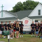 Summer Mission Trips are a great way to serve, and bond as a class. Here are the current senior class in Nashville, TN serving at Cottage Grove.