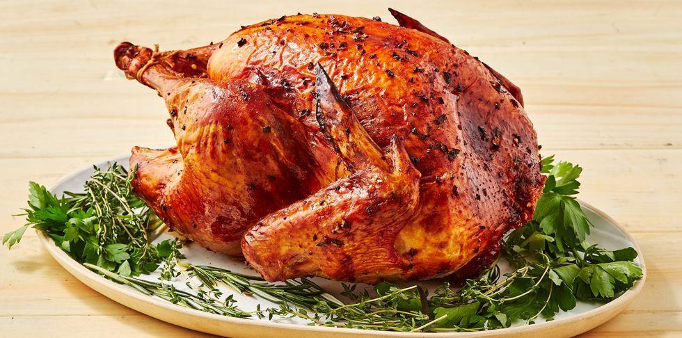 Golden Thanksgiving Turkey